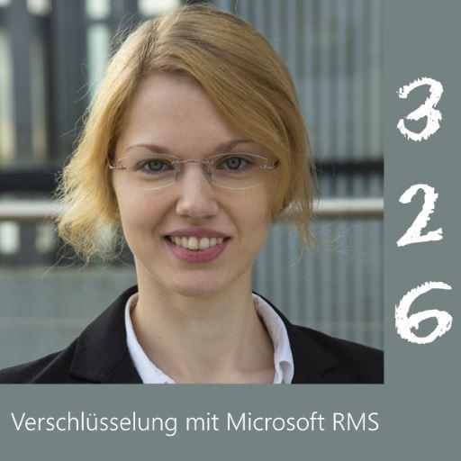 SPPD326 Talk mit <b>Yvonne Melzer</b> über Sichere Daten mit Microsoft Information ... - 326